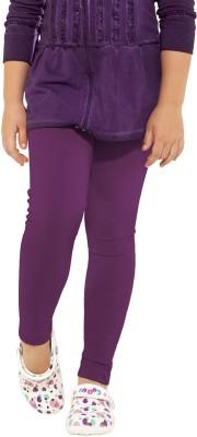 Go Colors Baby Girl's Purple Leggings