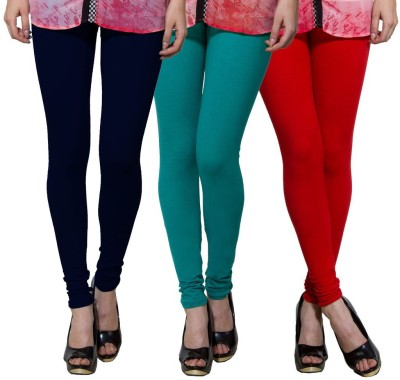 Both11 Women's Dark Blue, Green, Red Leggings