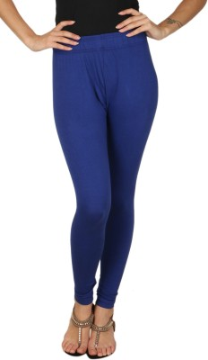 A N, E Women's Blue Leggings