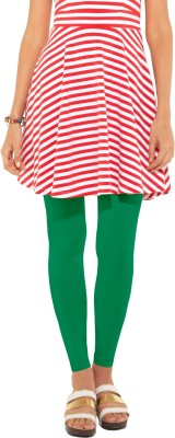 Go Colors Women's Green Leggings
