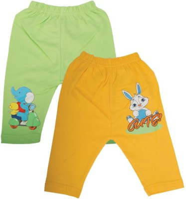 Mee Mee Baby Girl's Green, Yellow Leggings