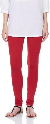 Deskjet Women's Red Leggings