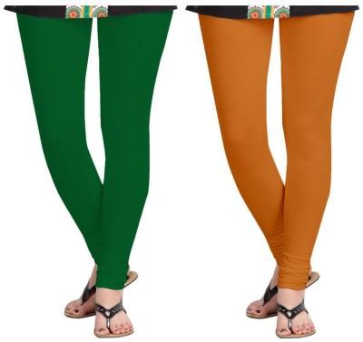 Roshni Creations Women,s Green, Red Leggings