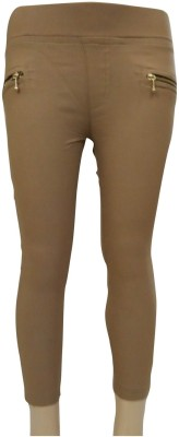 Garlynn Girl's Beige Jeggings