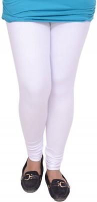Snoby Women's White Leggings