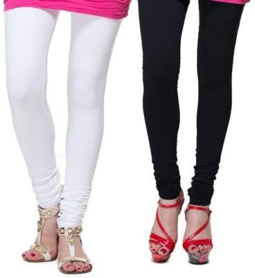 AVSPOLO Women's White, Black Leggings