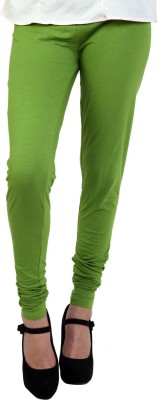 Hashcart Women's Green Leggings