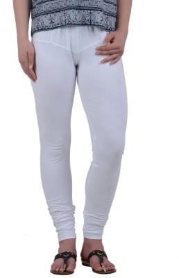 American-Elm Women's White Leggings