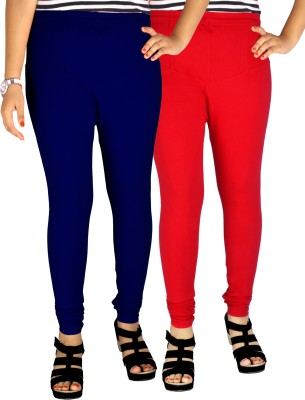 Dolphin Women's Blue, Red Leggings