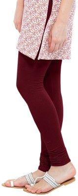 Vrshoppers Women's Maroon Leggings