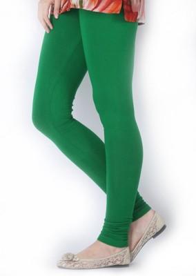 Vrshoppers Women's Light Green Leggings