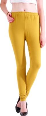 Adam n Eve Women's Yellow Leggings
