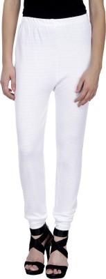 Trendline Women's White Leggings