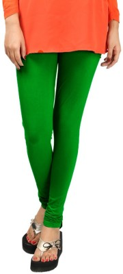 HAPPYSHOPP Women's Dark Green Leggings