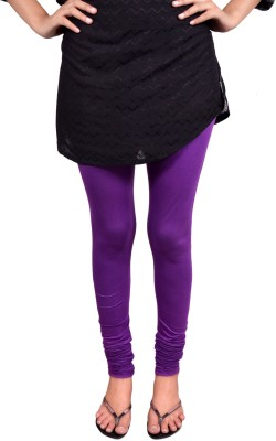 Anuradha Women,s Purple Leggings