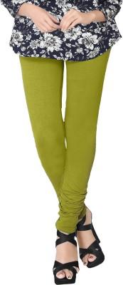 JV Wears Women's Green Leggings