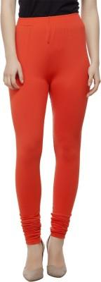 Adorz Wears Women's Orange Leggings