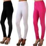 MDR Women's Pink, Black, White Leggings ...