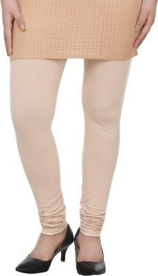 Dlina Women's Beige Leggings