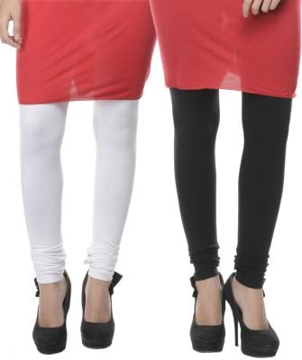 Lavennder Women's Black, White Leggings