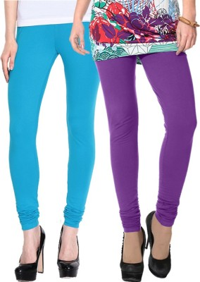 NGT Women's Purple, Light Blue Leggings