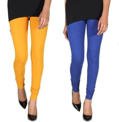 Ally Of Focker Women's Blue, Yellow Leggings