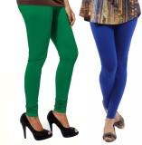 VP Vill Parko Women's Green, Blue Leggin...