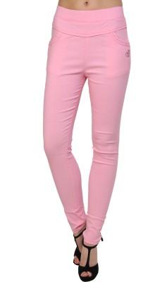 Silvercross Women's Pink Jeggings
