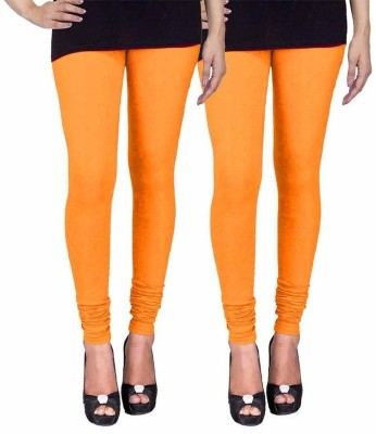 Ayesha Fashion Women's Yellow Leggings