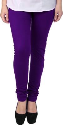 Charu Boutique Women's Purple Leggings