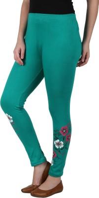 Franclo Women's Green Leggings