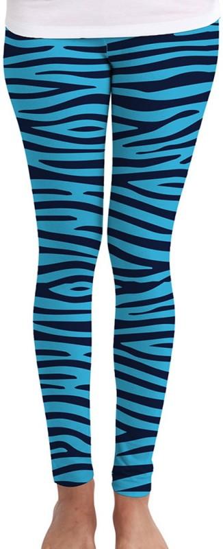Huetrap Women's Light Blue Leggings