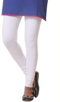V R SHOPPERS Women's White Leggings
