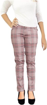Parv Collections Women's Beige Jeggings