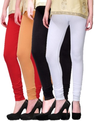 Rexel Fashion Women's Red, Brown, Black, White Leggings