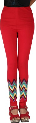 Gagrai Ecom Women's Red Leggings
