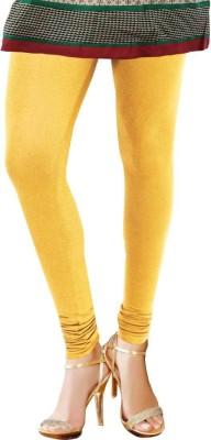 TBZ Women's Yellow Leggings
