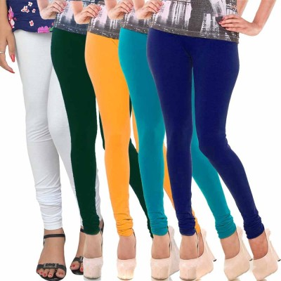 shreemangalammart Girl's Multicolor Leggings
