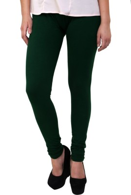 Charu Boutique Women's Dark Green Leggings