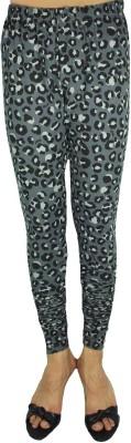 Bluedge Women's Grey, Black Leggings