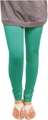 Leggings World Women's Green Leggings