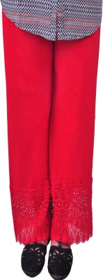 Anubhaviya Women's Red Leggings