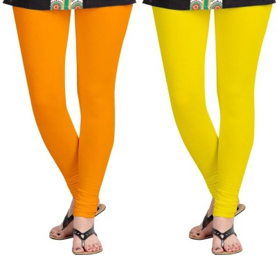 AF Sayonara Women's Yellow, Orange Leggings