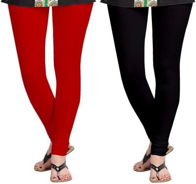 AF Sayonara Women's Red, Black Leggings