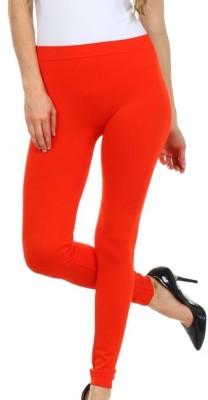 Designerkarts Women's Orange Leggings