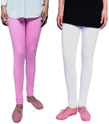 Tanunni Women's Pink, White Leggings
