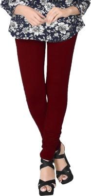 JV Wears Women's Maroon Leggings