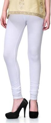 Miss Olivia Women's White Leggings