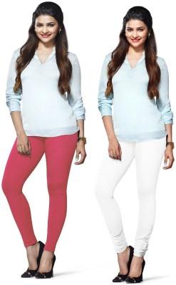 Amul Florio Women's Pink, White Leggings