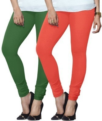Zoey Oliva Women's Orange Leggings